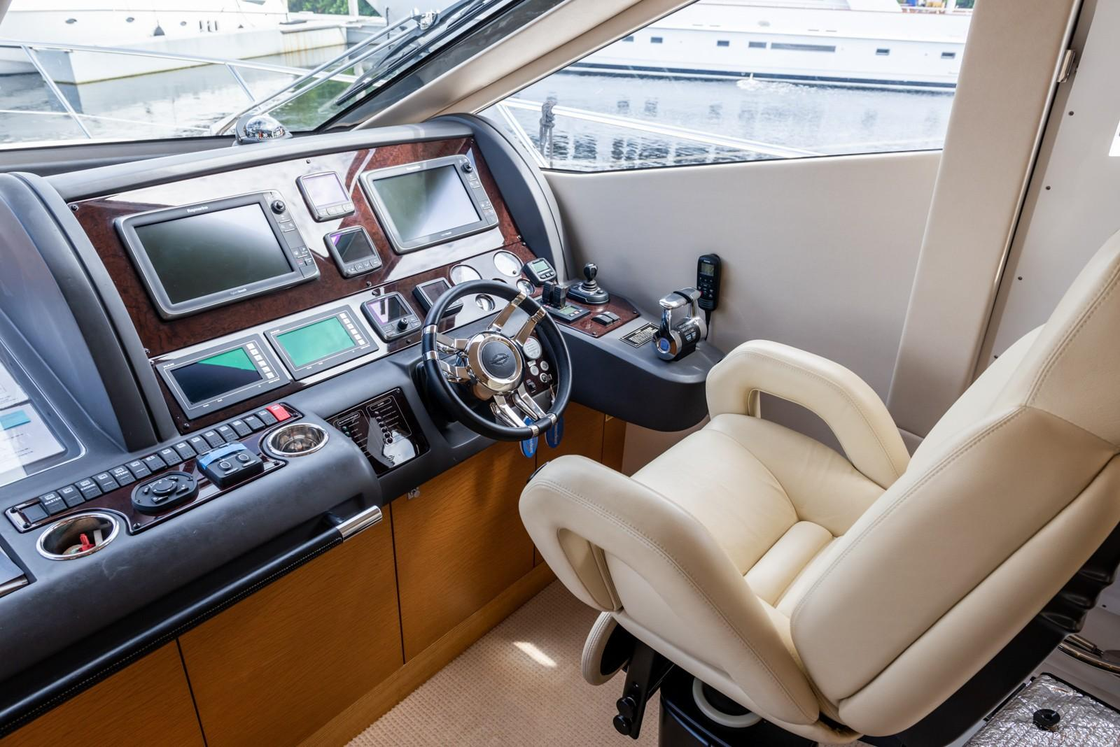 Liquid Fusion- 2014 Sunseeker 63 - Helm