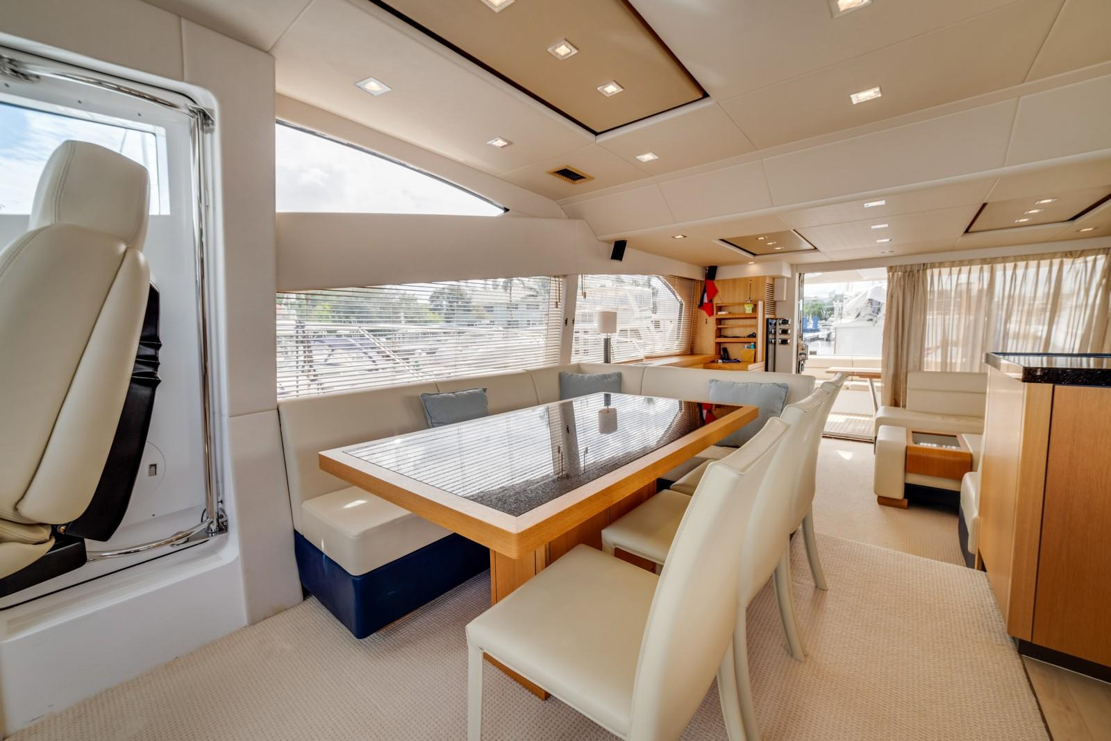 Liquid Fusion- 2014 Sunseeker 63 - Dining
