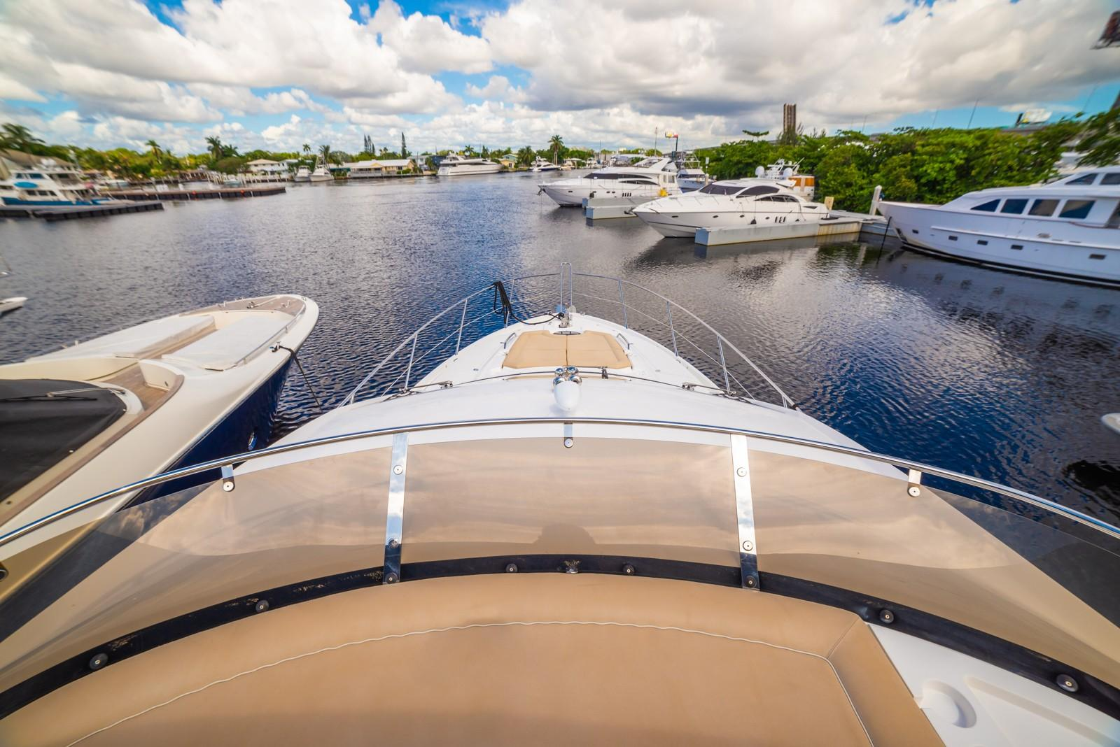 Liquid Fusion- 2014 Sunseeker 63 - Bow