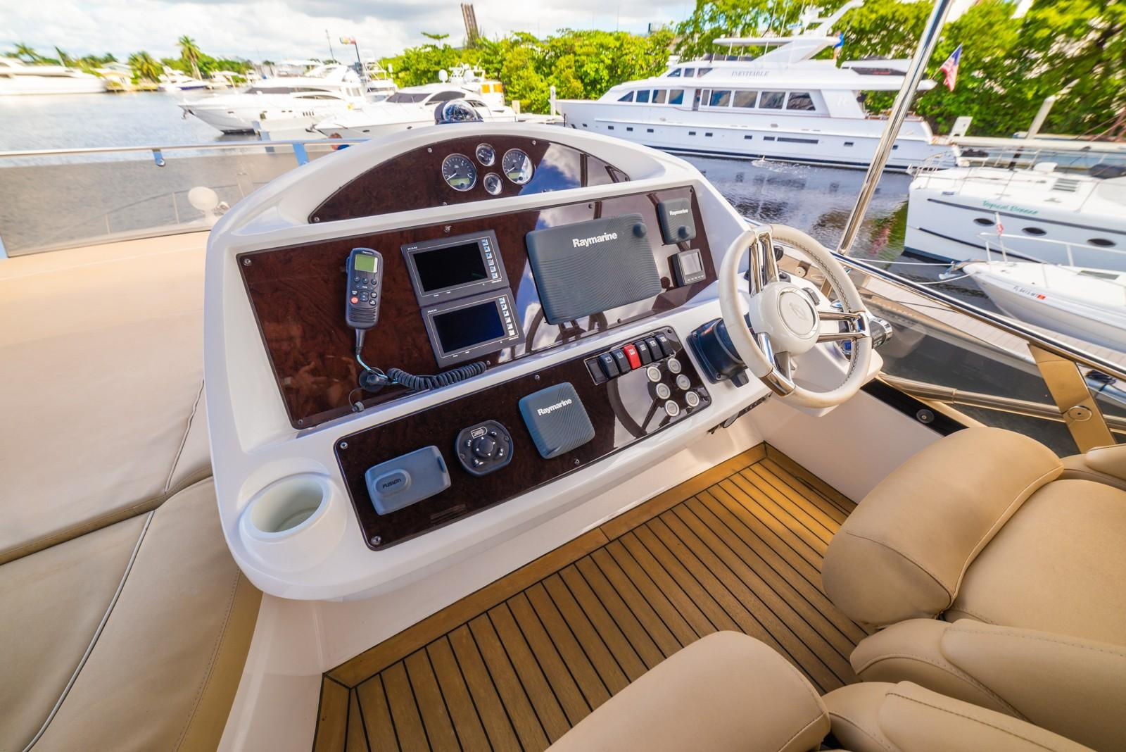 Liquid Fusion- 2014 Sunseeker 63 - FB Helm