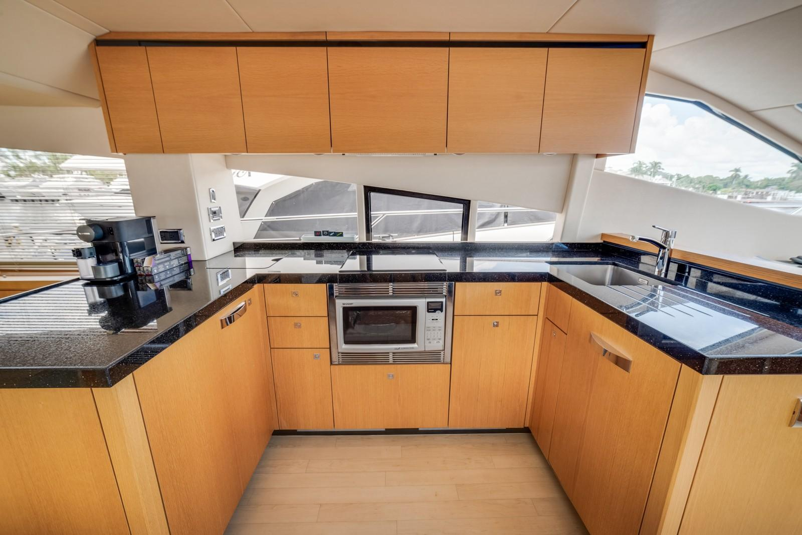 Liquid Fusion- 2014 Sunseeker 63 - Galley
