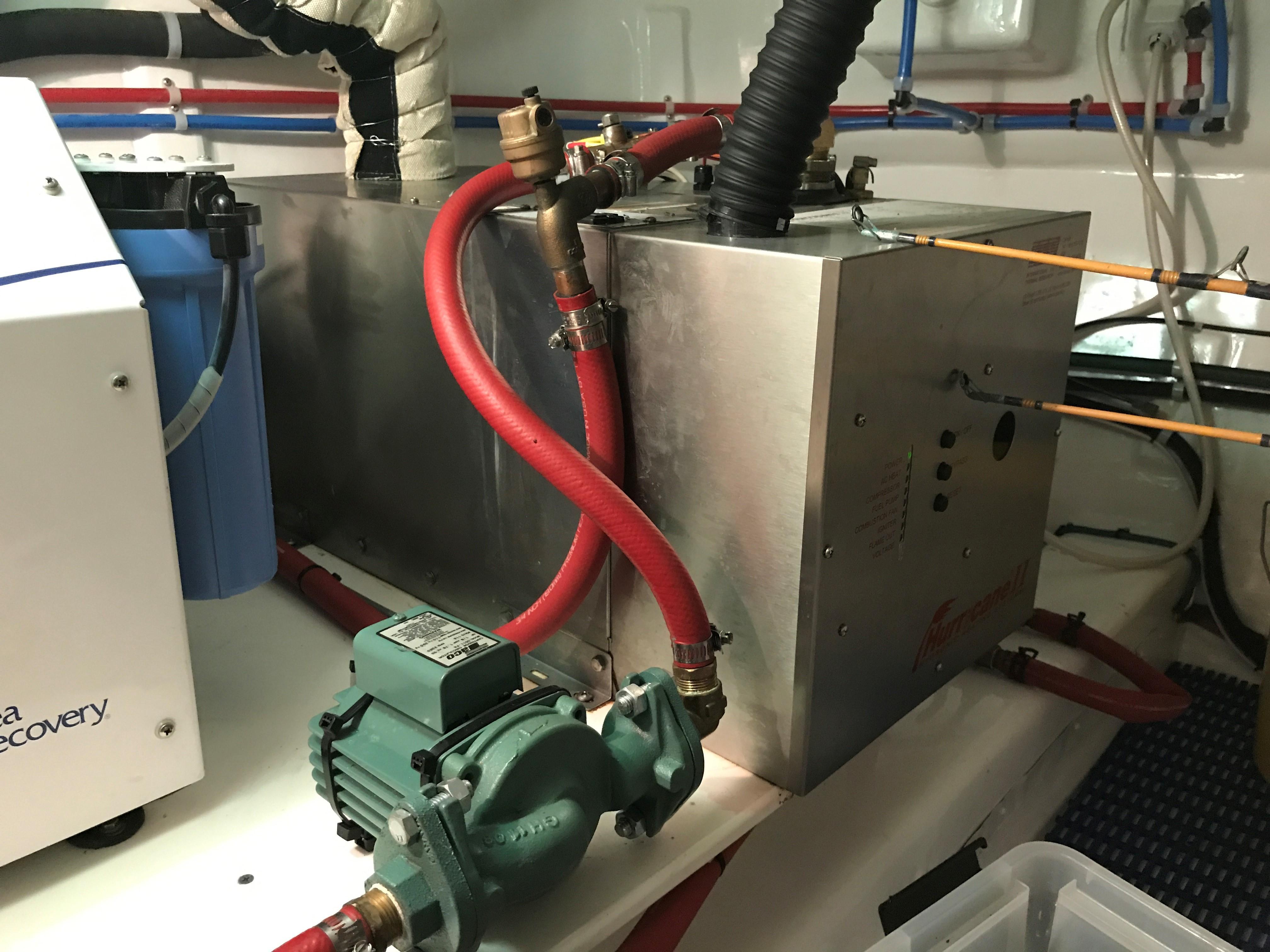 Hurricane hydronic heater