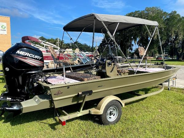 2017 TRACKER BOATS 1860 GRIZZLY for sale