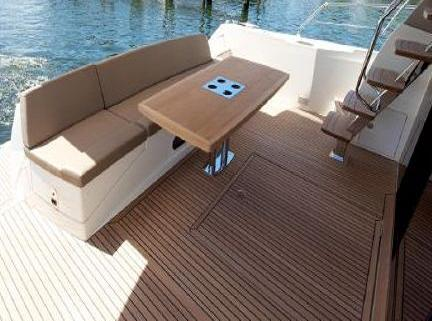 Cockpit Seating With Teak Table