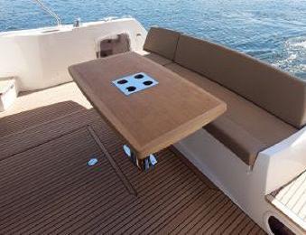 Cockpit And Swim Platform Teak Decking