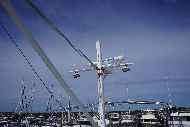 Marine Trader 50 Motoryacht - marine trader 50 mast
