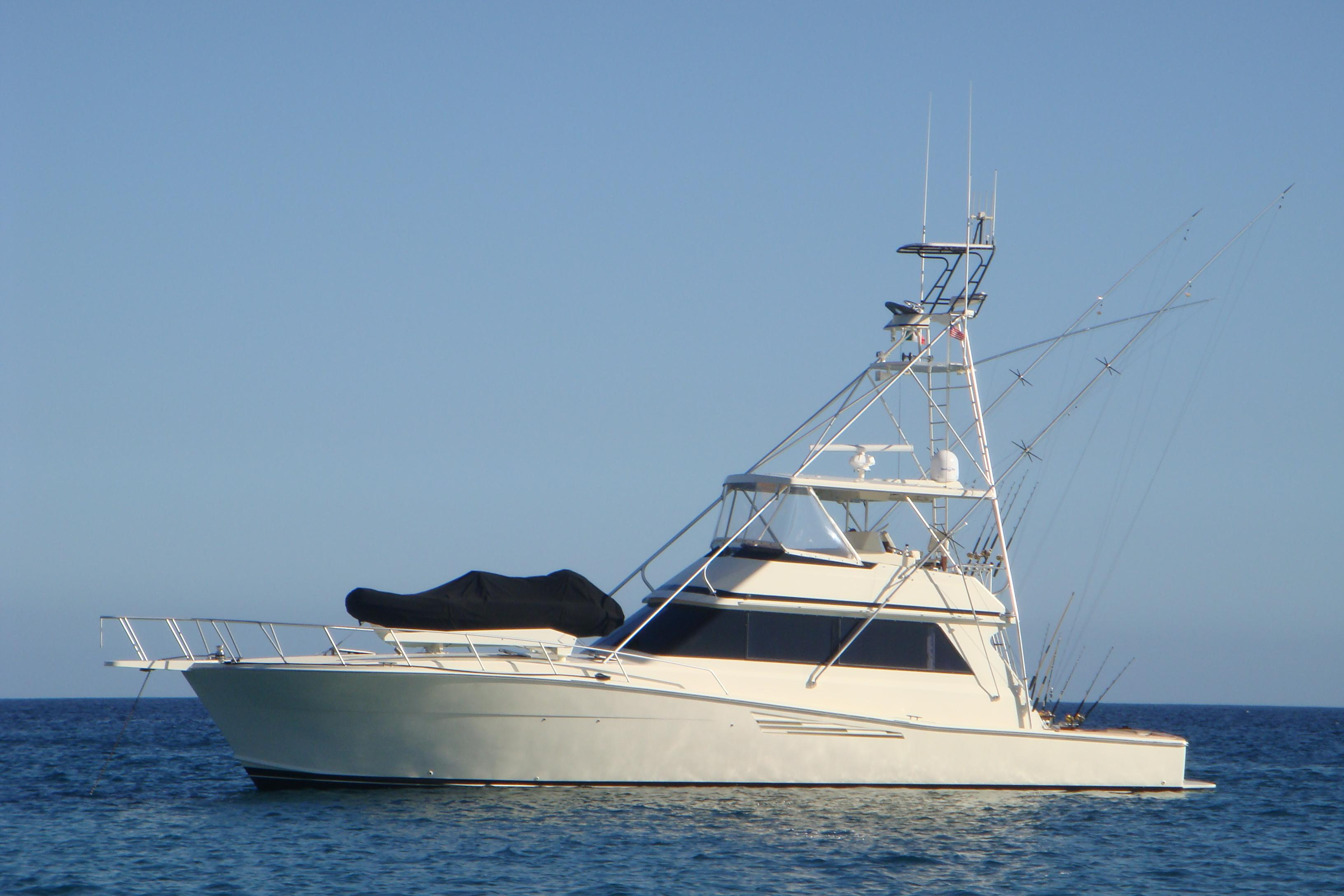 57 viking yachts 1989 reel energy for sale in san diego for Fishing boats for sale san diego