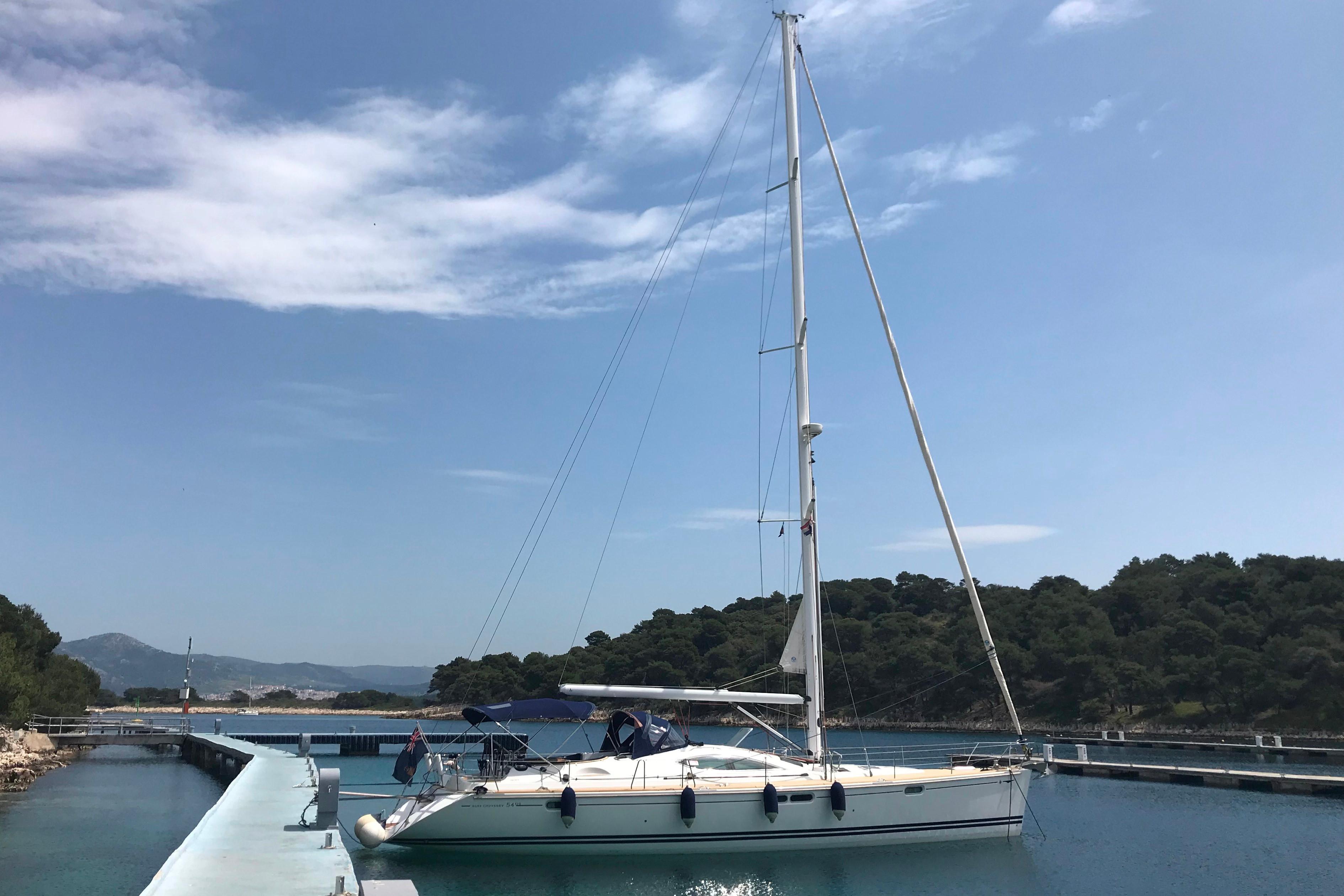 Used Jeanneau Sun Odyssey 54 Ds For Sale Princess Motor Yacht