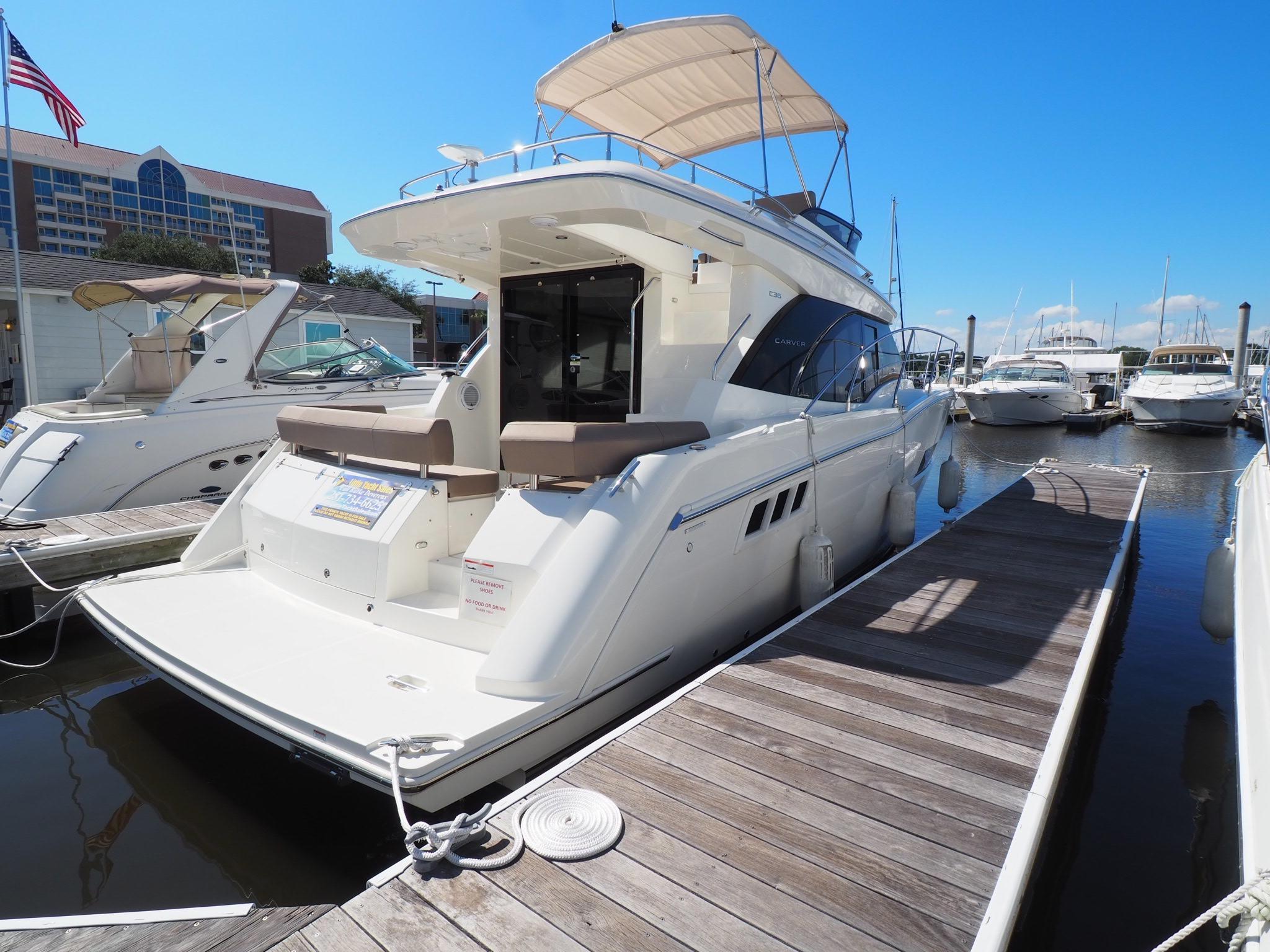 2019 Carver C36 – Little Yacht Sales