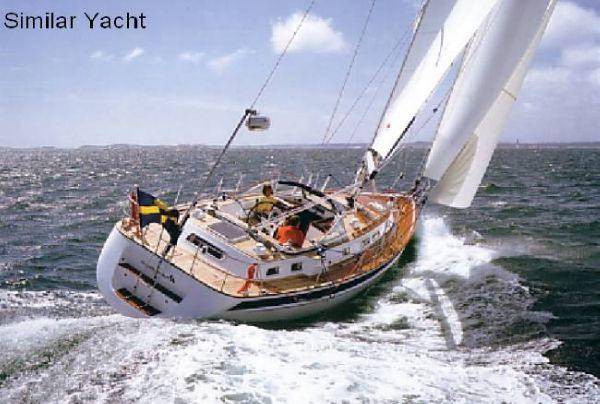 Boat Name: WEGA; Year: 2003; Builder: Hallberg-Rassy Varvs AB; Model: 43 ...