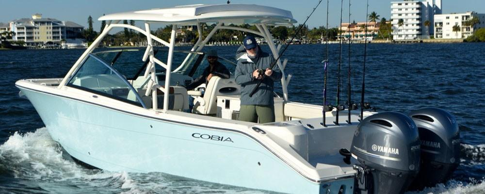 Cobia 280 Dual Console - In Stock