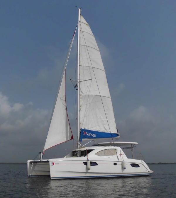 AGATHE under sail