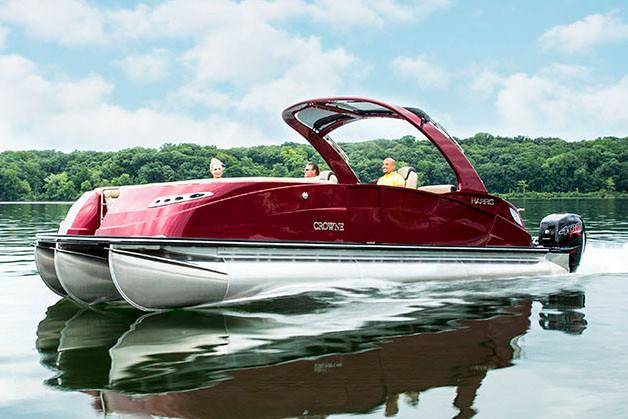 2018 Harris Crowne SL 270 Twin Engine