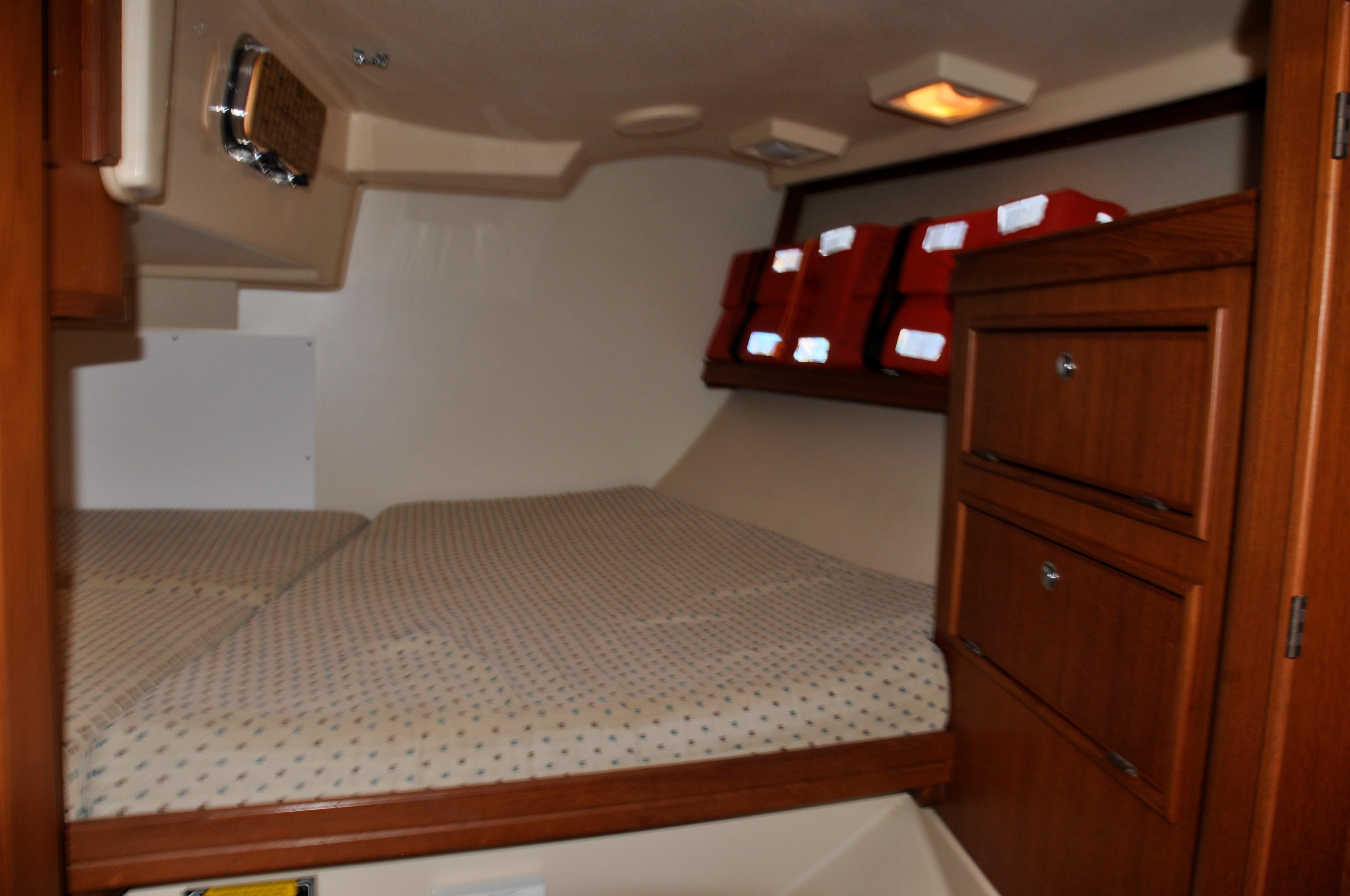 aft cabin - looking aft