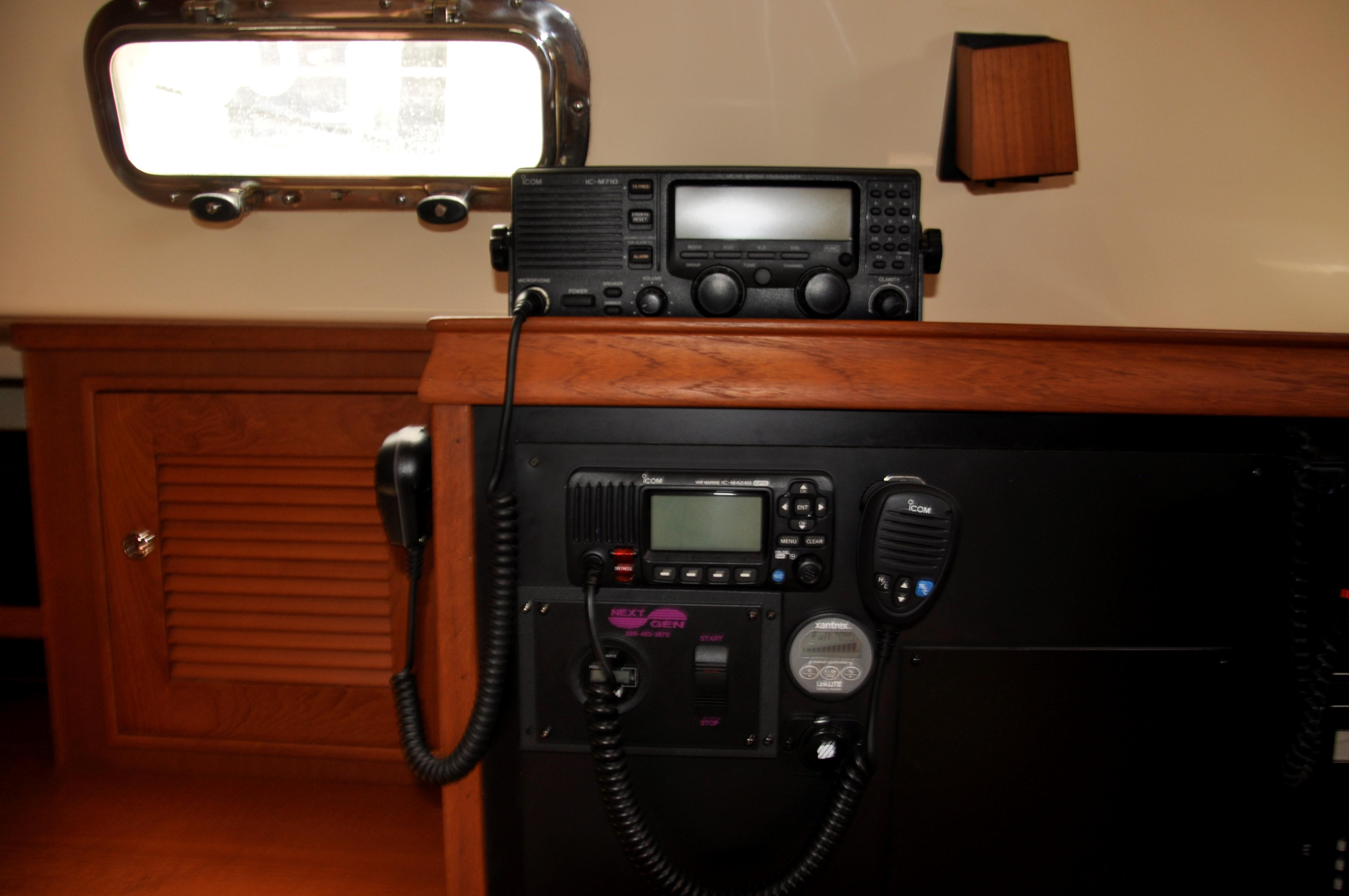 SSB and VHF radios