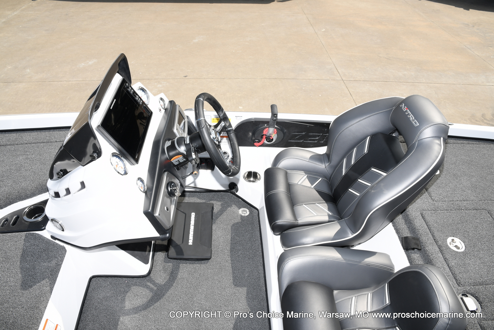 2021 Nitro boat for sale, model of the boat is Z21 Pro Package & Image # 7 of 50