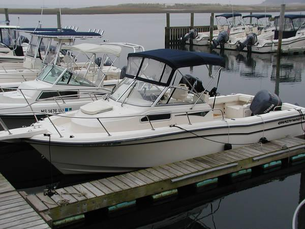 Grady White 22 Seafarer w 200HP HPDI Yamaha/ 173 Hours Sports Fishing Boats