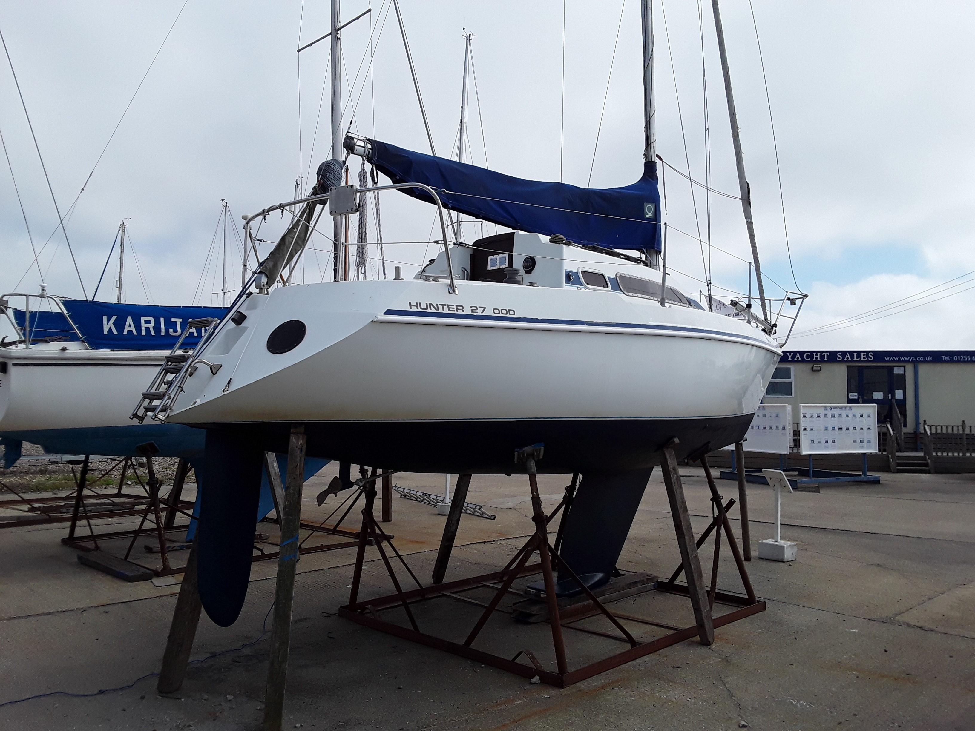 Hunter 27 OOD boat for sale - Westwater Yacht Sales