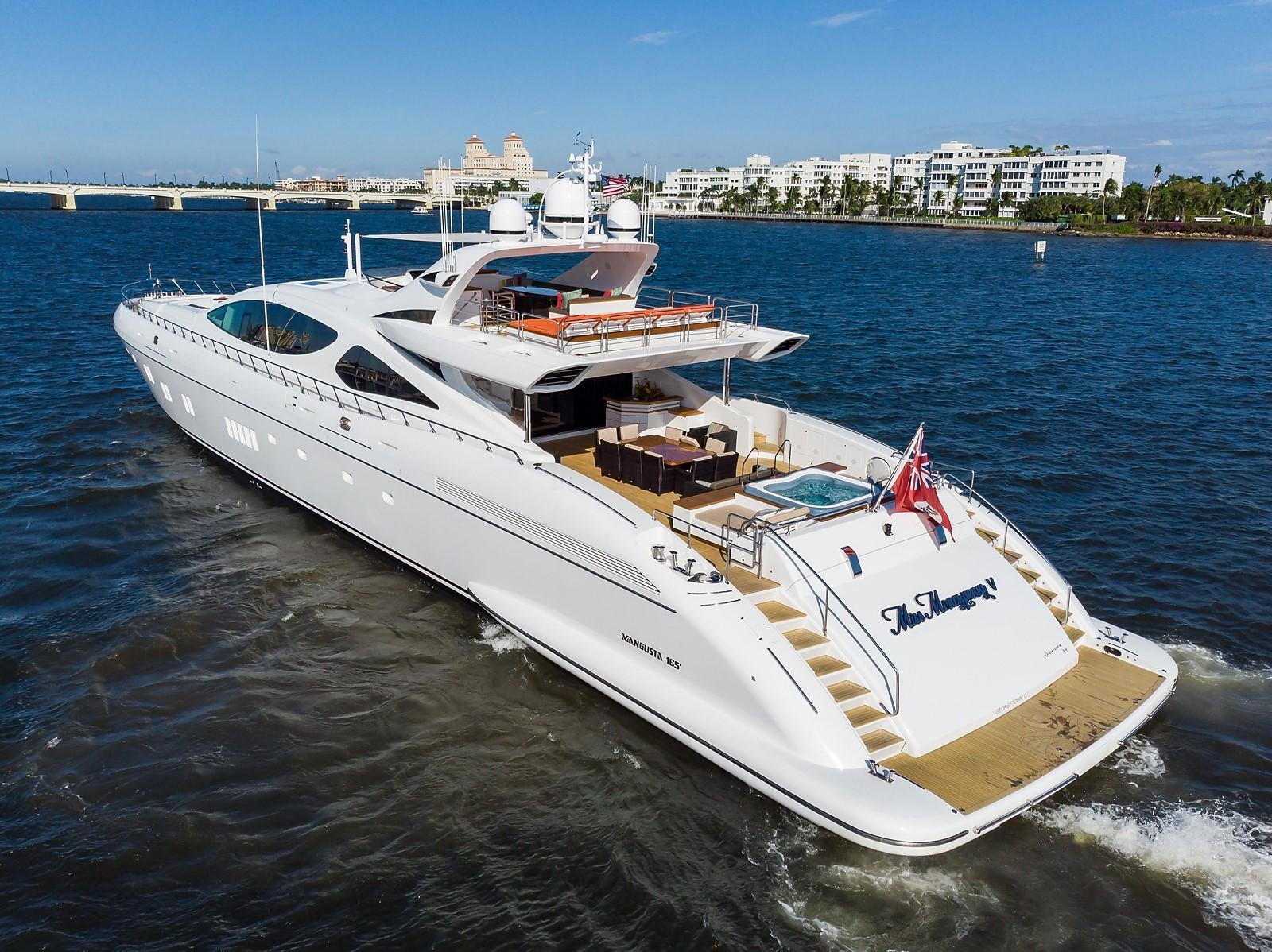 165 Mangusta Miss Moneypenny V 2012 West Palm Beach Denison Yacht Sales