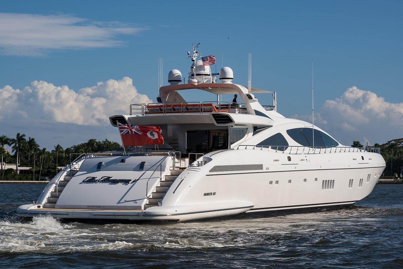 Miss Moneypenny V Mangusta 2012 165 Motor Yacht 165 Yacht For Sale In Us