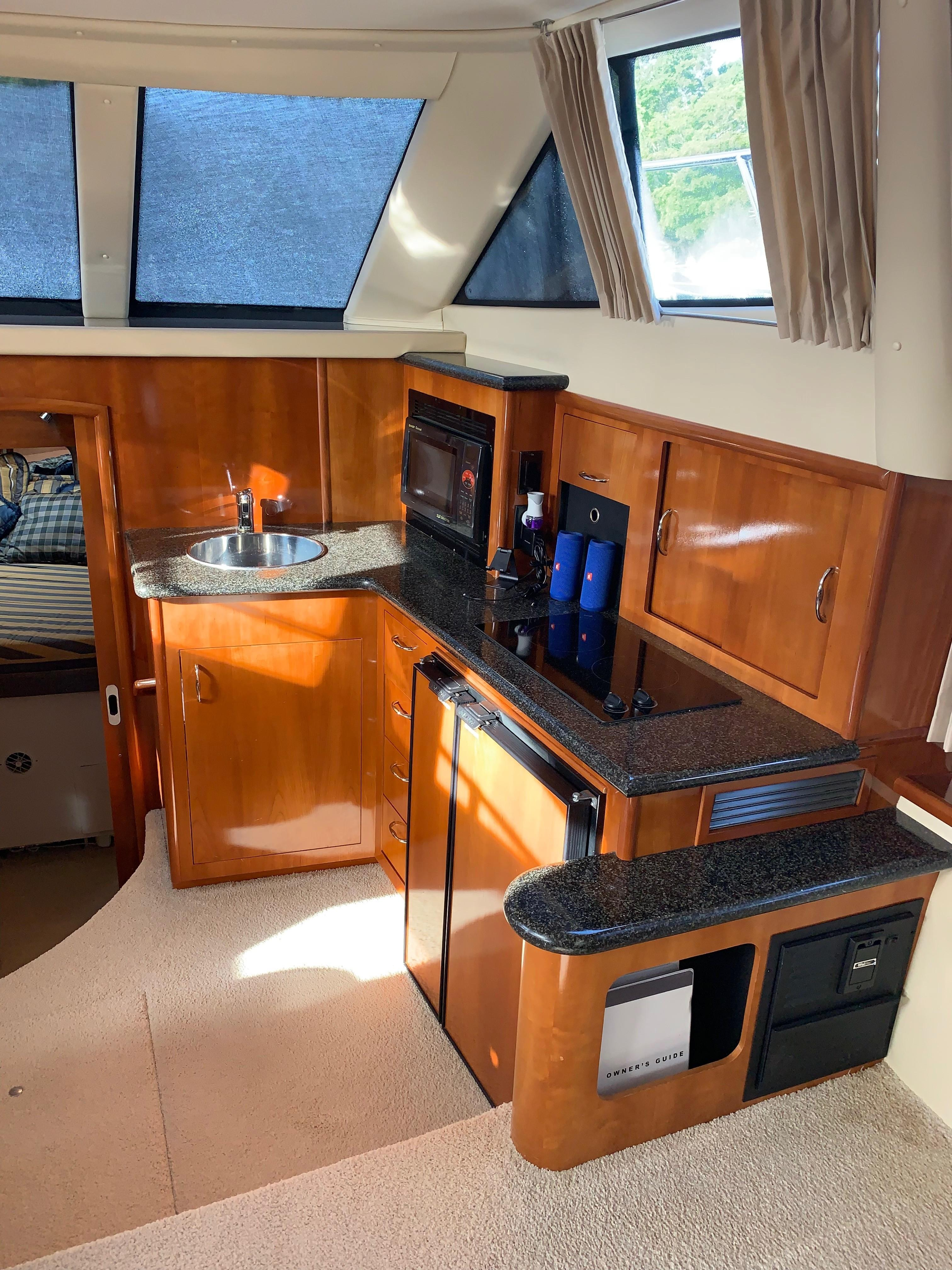 Carver 36 Motor Yacht - Galley