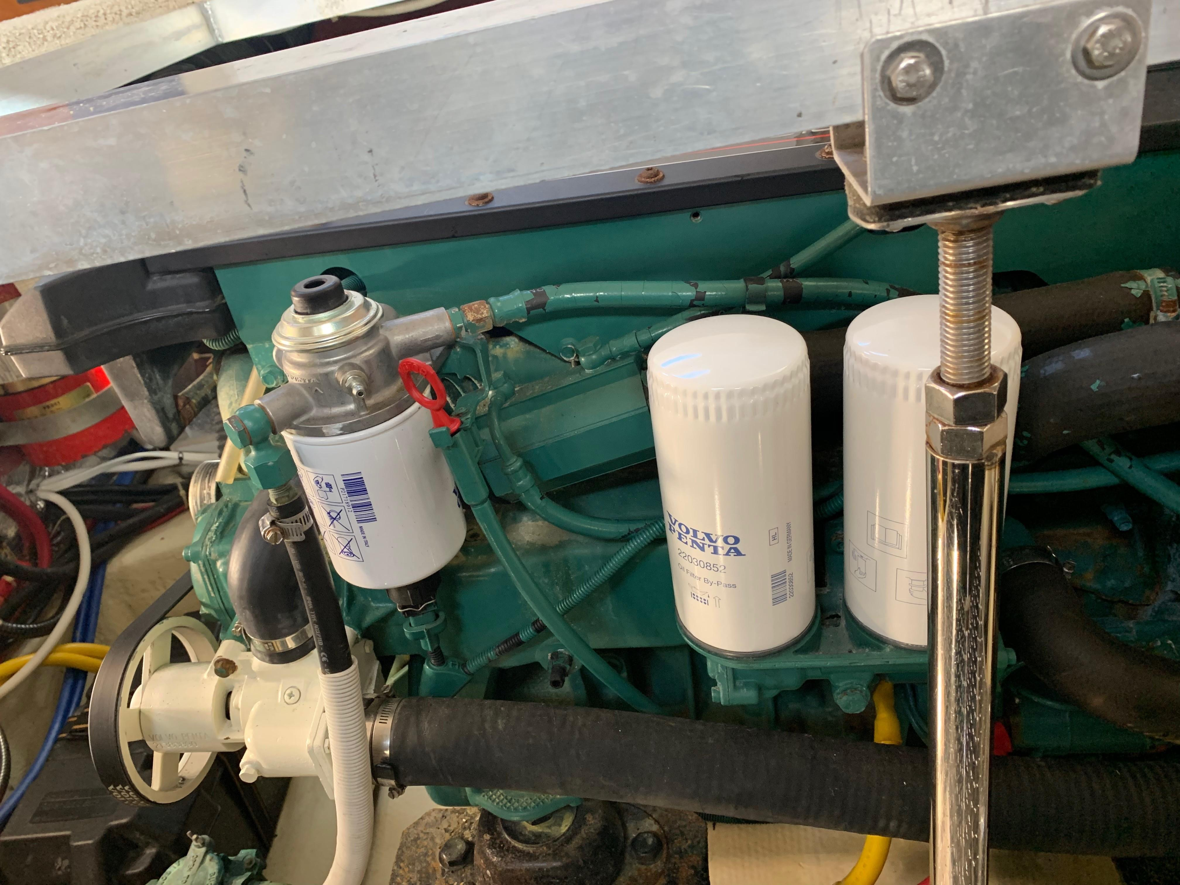 Carver 36 Motor Yacht - New Filters