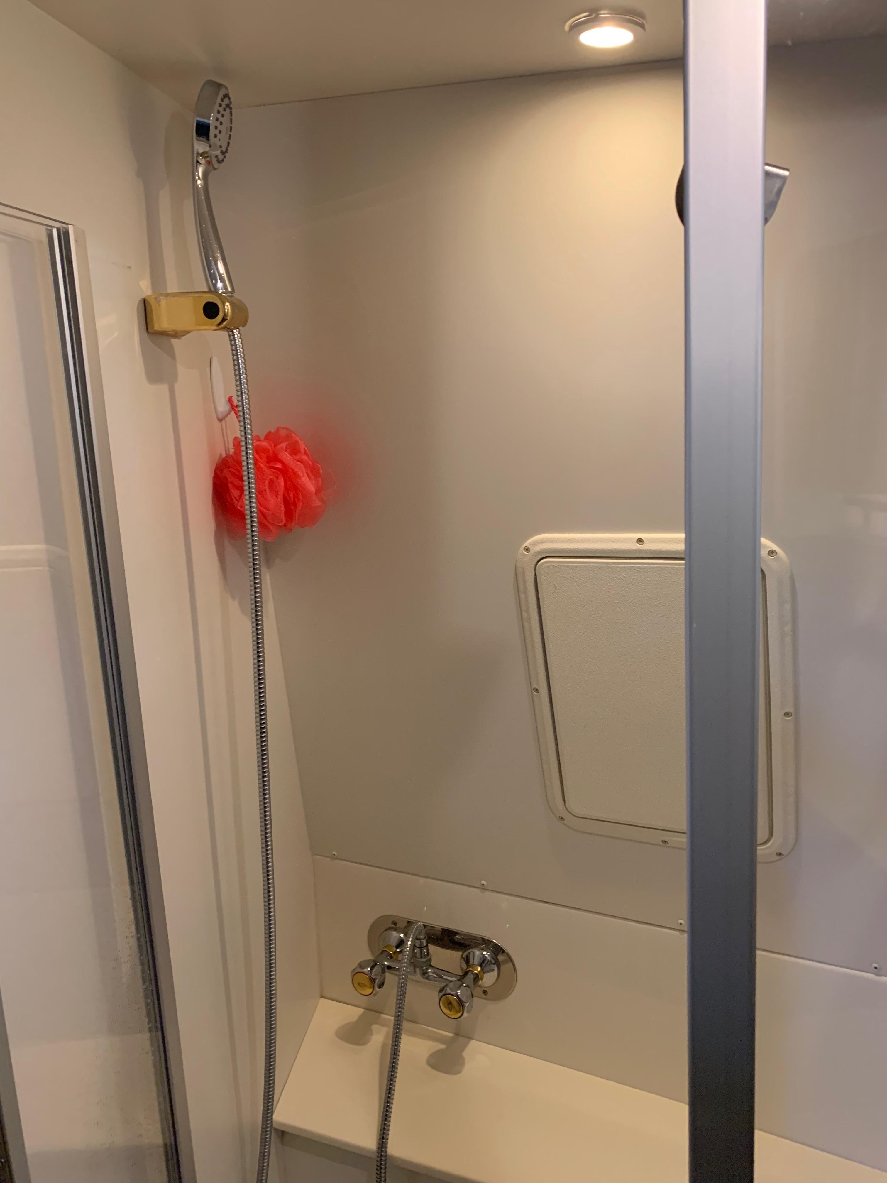 Carver 36 Motor Yacht - Master Shower 2