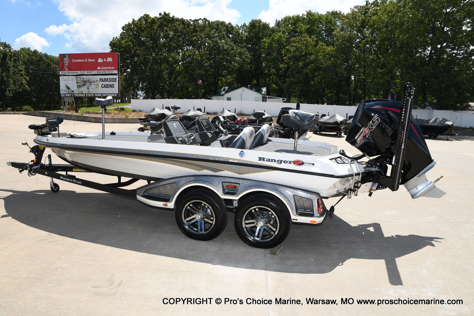 2021 Ranger Boats boat for sale, model of the boat is Z520L Cup Equipped DUAL CONSOLE & Image # 18 of 50