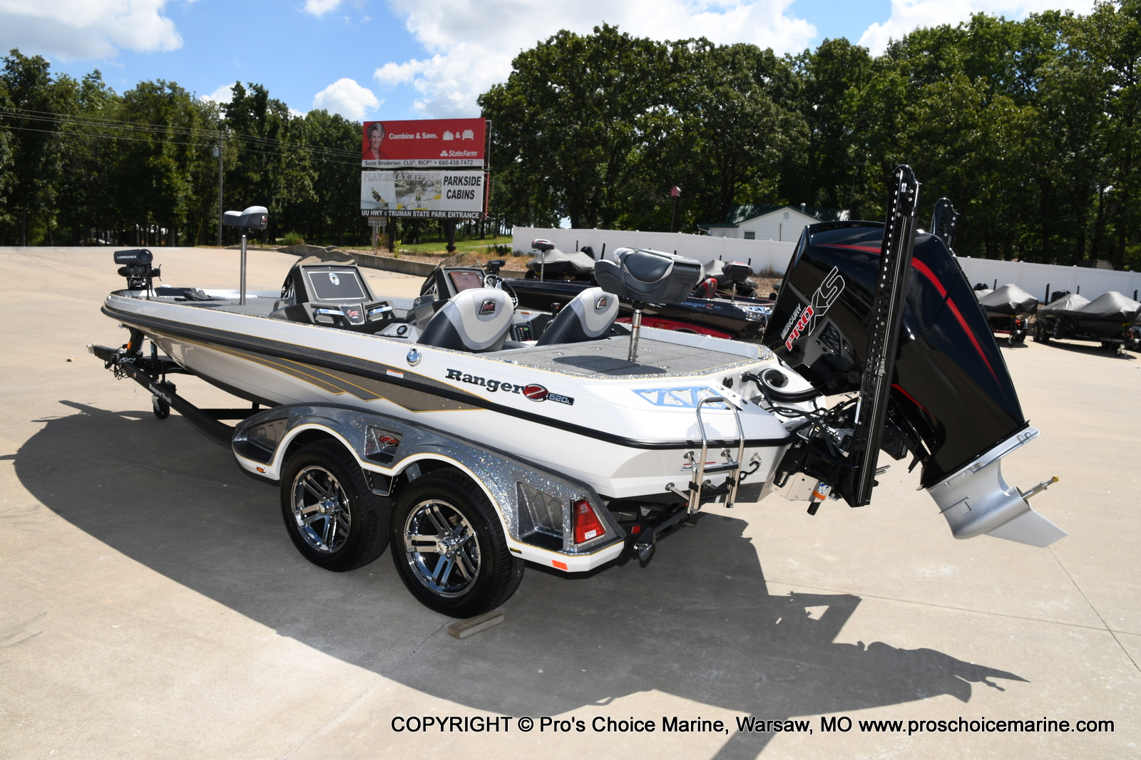 2021 Ranger Boats boat for sale, model of the boat is Z520L Cup Equipped DUAL CONSOLE & Image # 29 of 50