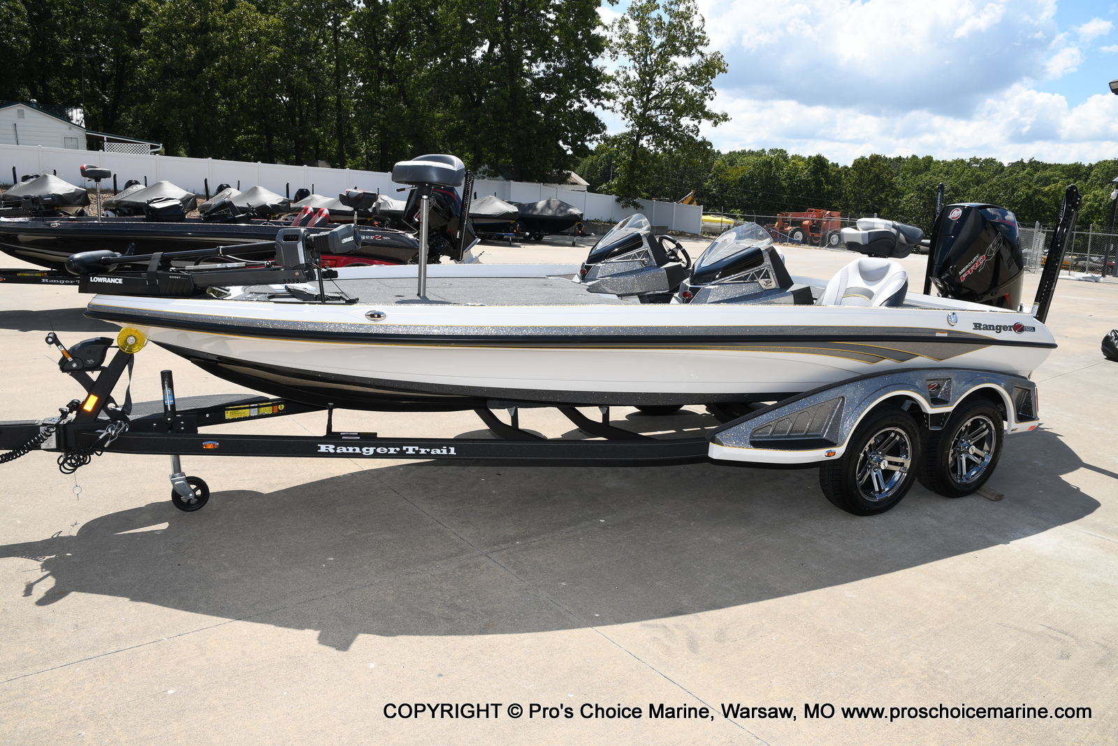 2021 Ranger Boats boat for sale, model of the boat is Z520L Cup Equipped DUAL CONSOLE & Image # 42 of 50