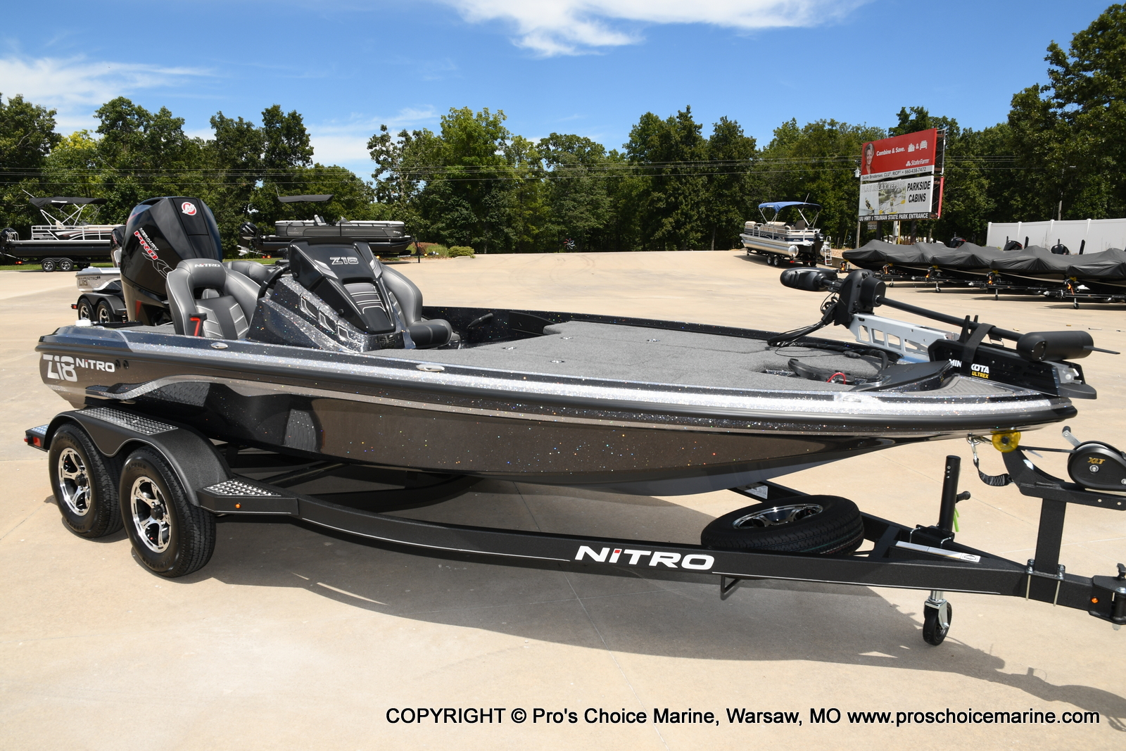 2021 Nitro boat for sale, model of the boat is Z18 w/175HP Pro-XS & Image # 1 of 50