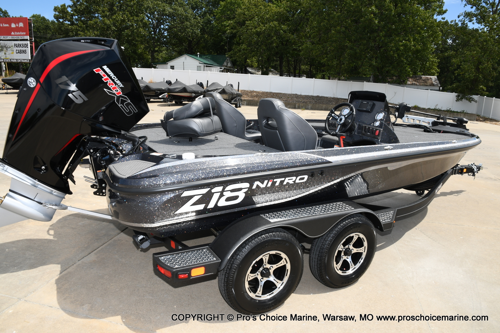 2021 Nitro boat for sale, model of the boat is Z18 w/175HP Pro-XS & Image # 4 of 50