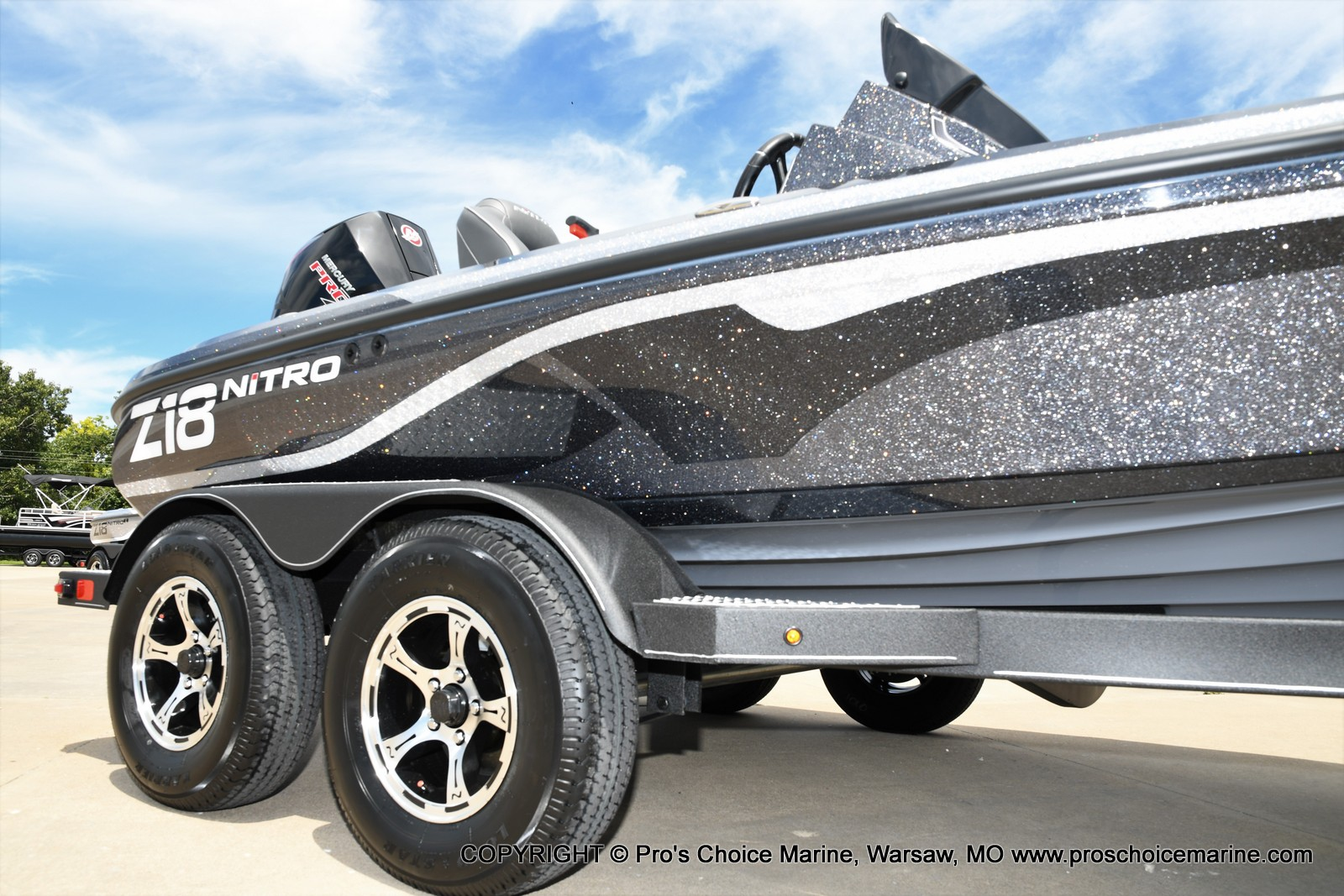 2021 Nitro boat for sale, model of the boat is Z18 w/175HP Pro-XS & Image # 14 of 50