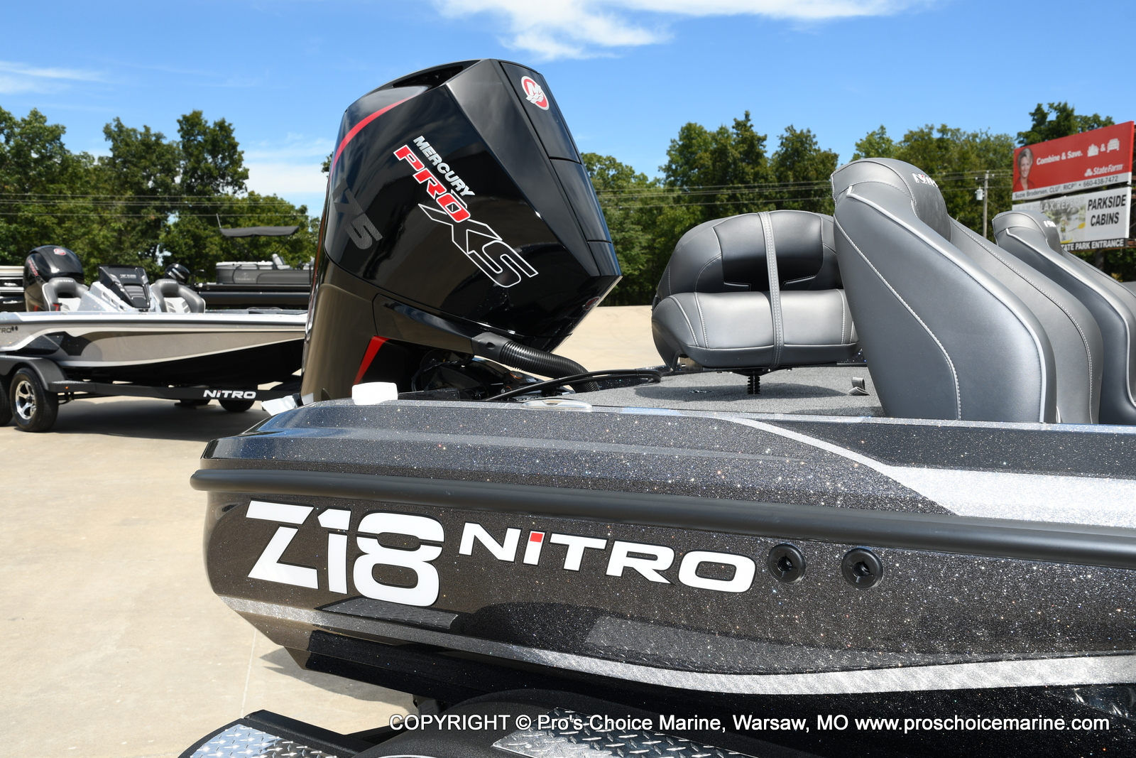2021 Nitro boat for sale, model of the boat is Z18 w/175HP Pro-XS & Image # 15 of 50