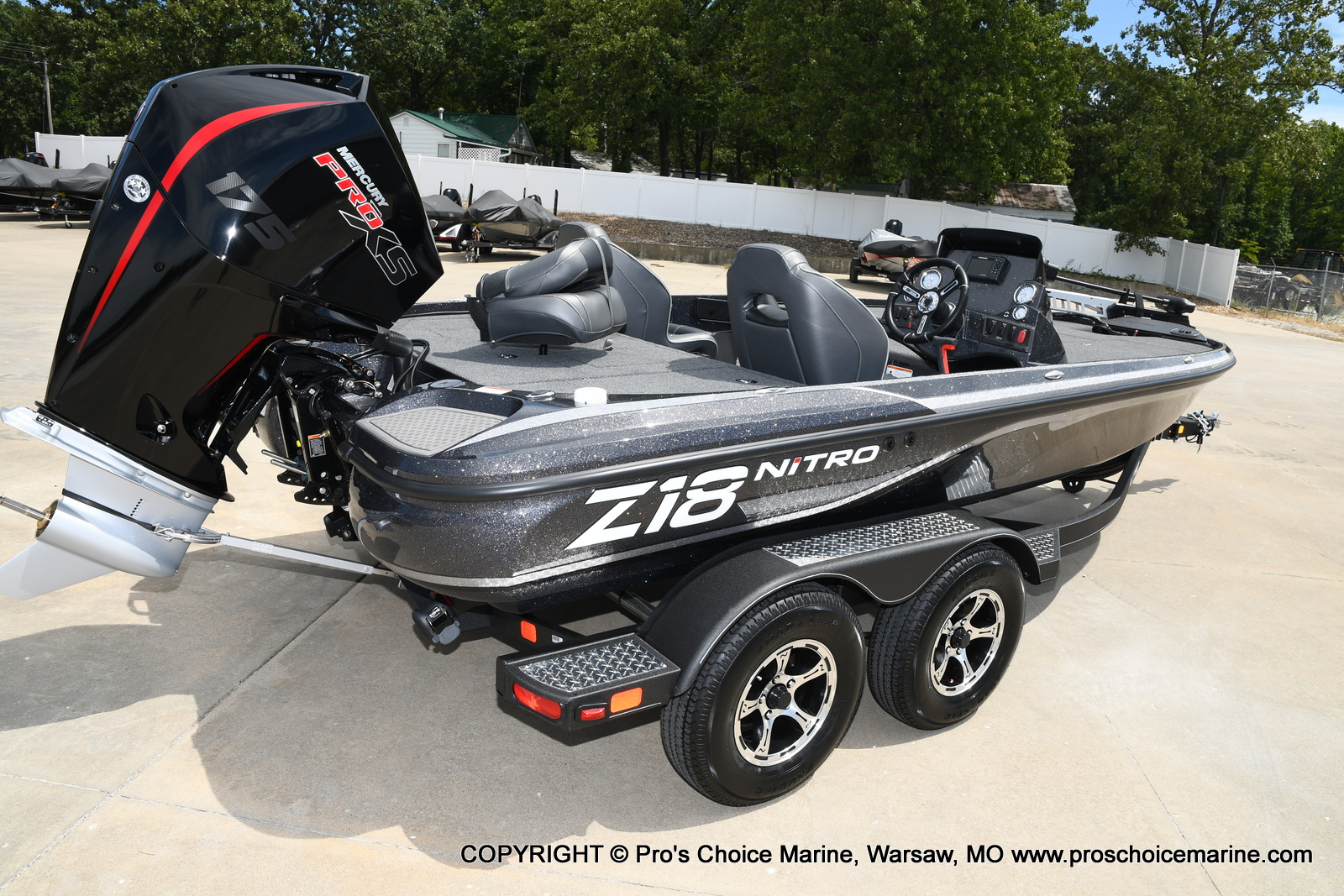 2021 Nitro boat for sale, model of the boat is Z18 w/175HP Pro-XS & Image # 25 of 50