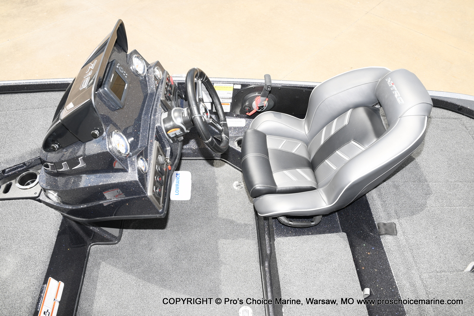 2021 Nitro boat for sale, model of the boat is Z18 w/175HP Pro-XS & Image # 28 of 50