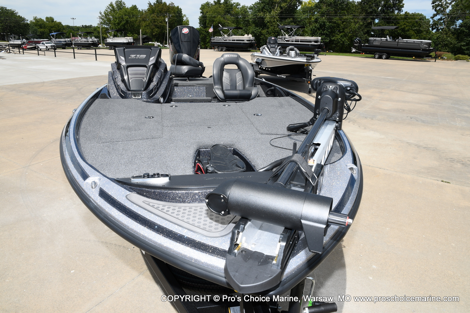 2021 Nitro boat for sale, model of the boat is Z18 w/175HP Pro-XS & Image # 40 of 50