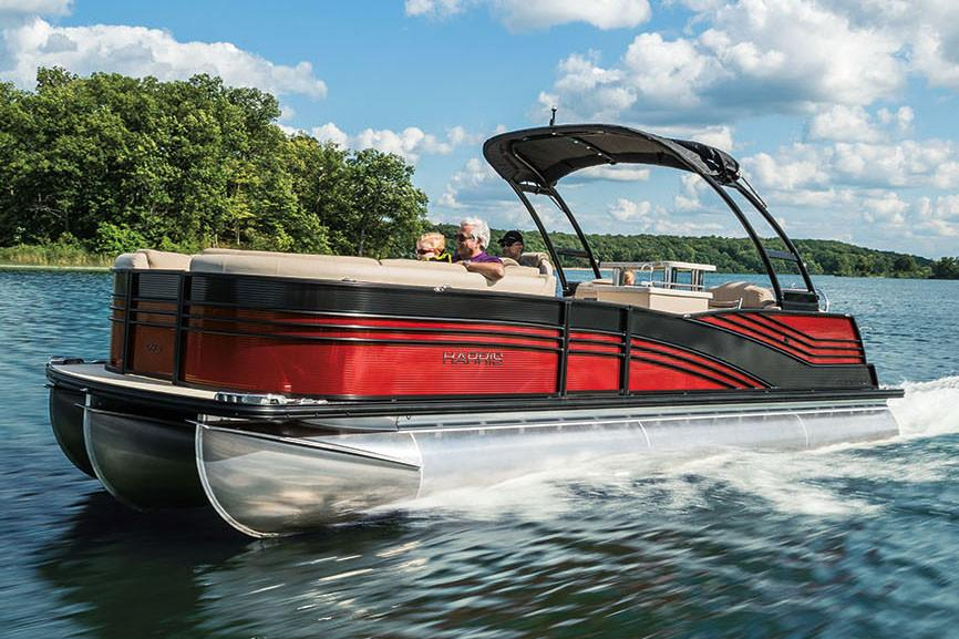 2018 Harris Grand Mariner CW 270 Twin Engine