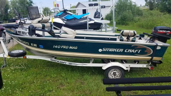 1999 Smoker Craft boat for sale, model of the boat is 140 Pro Mag & Image # 1 of 12