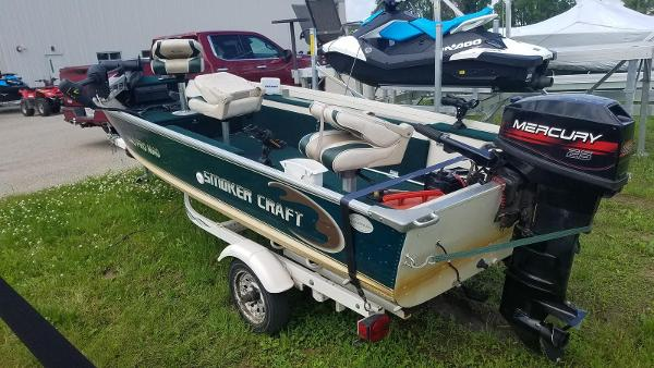 1999 Smoker Craft boat for sale, model of the boat is 140 Pro Mag & Image # 3 of 12