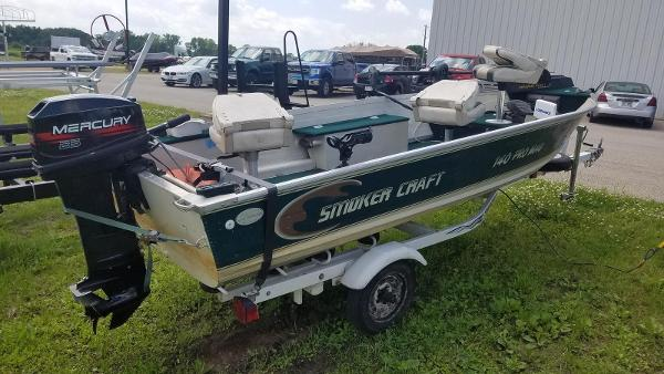 1999 Smoker Craft boat for sale, model of the boat is 140 Pro Mag & Image # 4 of 12