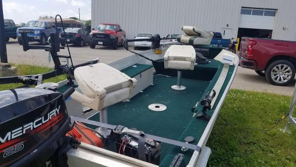 1999 Smoker Craft boat for sale, model of the boat is 140 Pro Mag & Image # 9 of 12