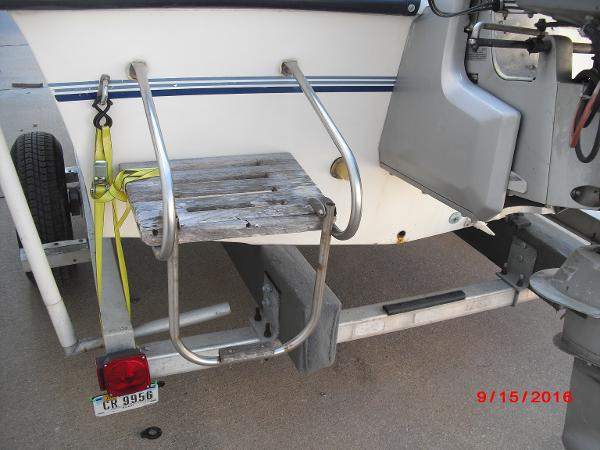1986 PROLINE boat for sale, model of the boat is 17' CENTER CONSOLE & Image # 30 of 31