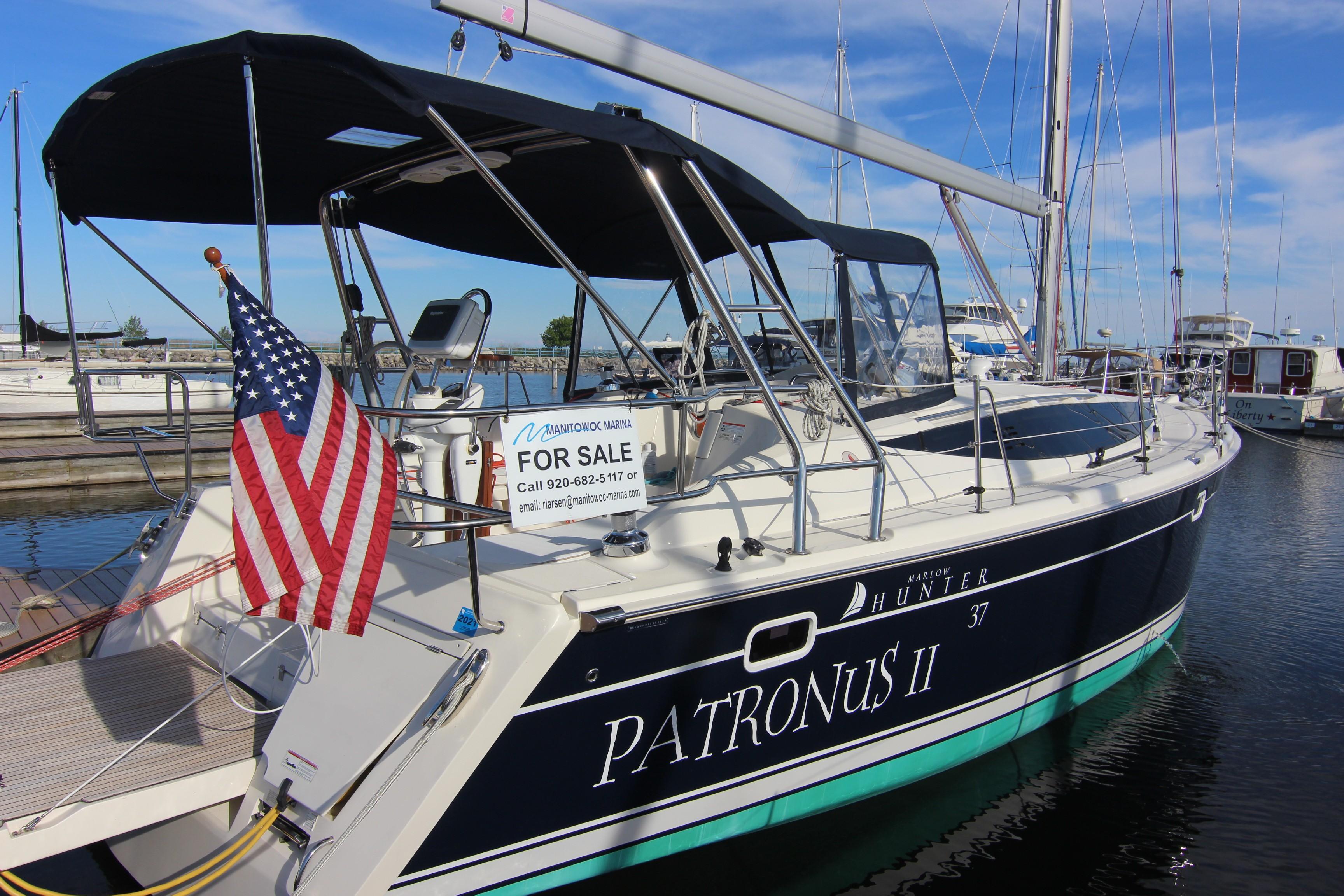 39 Hunter Patronus II 2015 Manitowoc | Denison Yacht Sales