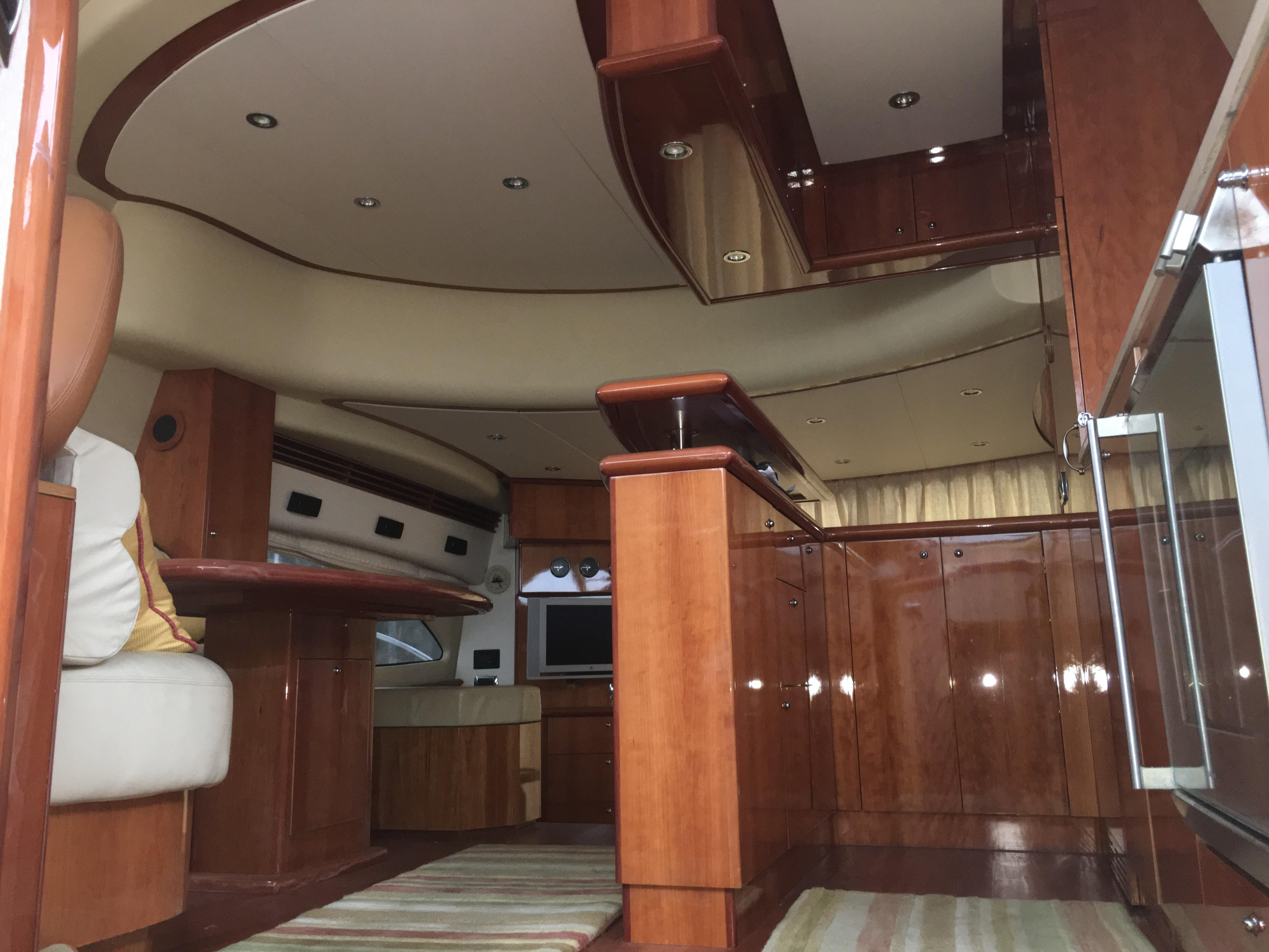 Looking up from staterooms