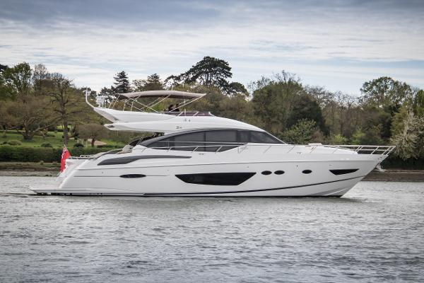 Princess Motor Yacht Sales - Used Princess S72