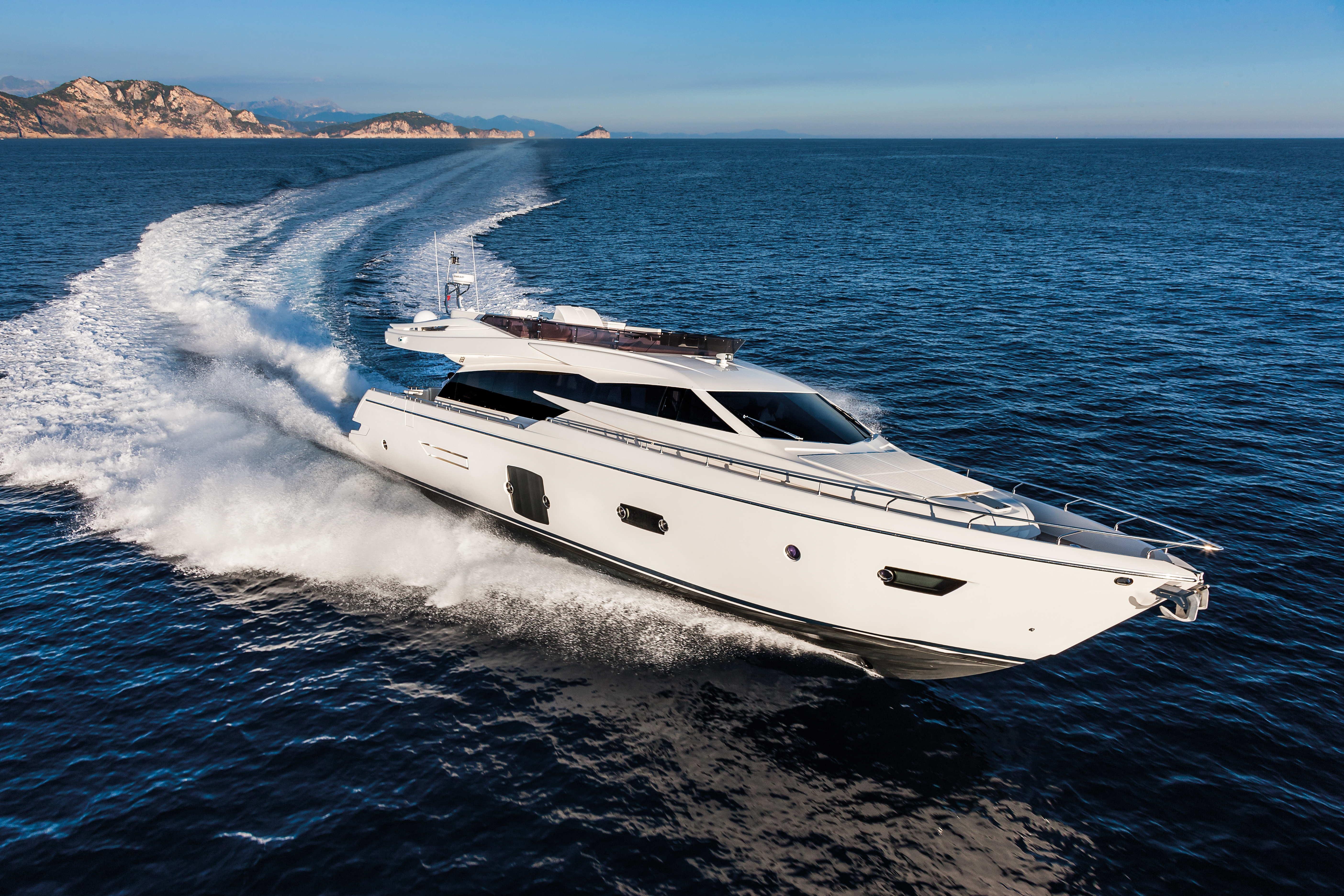 245' Ferretti Yachts 2014