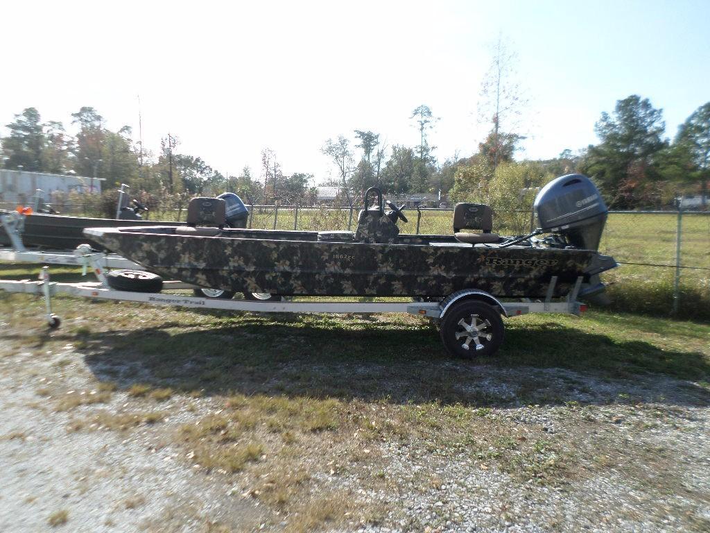 New  2018 18.33' Ranger 1862 MPV Aluminum Fish Boat in Slidell, Louisiana