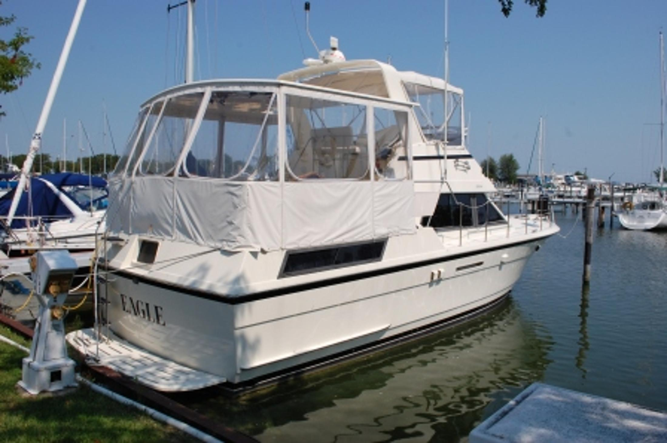 1987 Hatteras 40 Motor Yacht For Sale