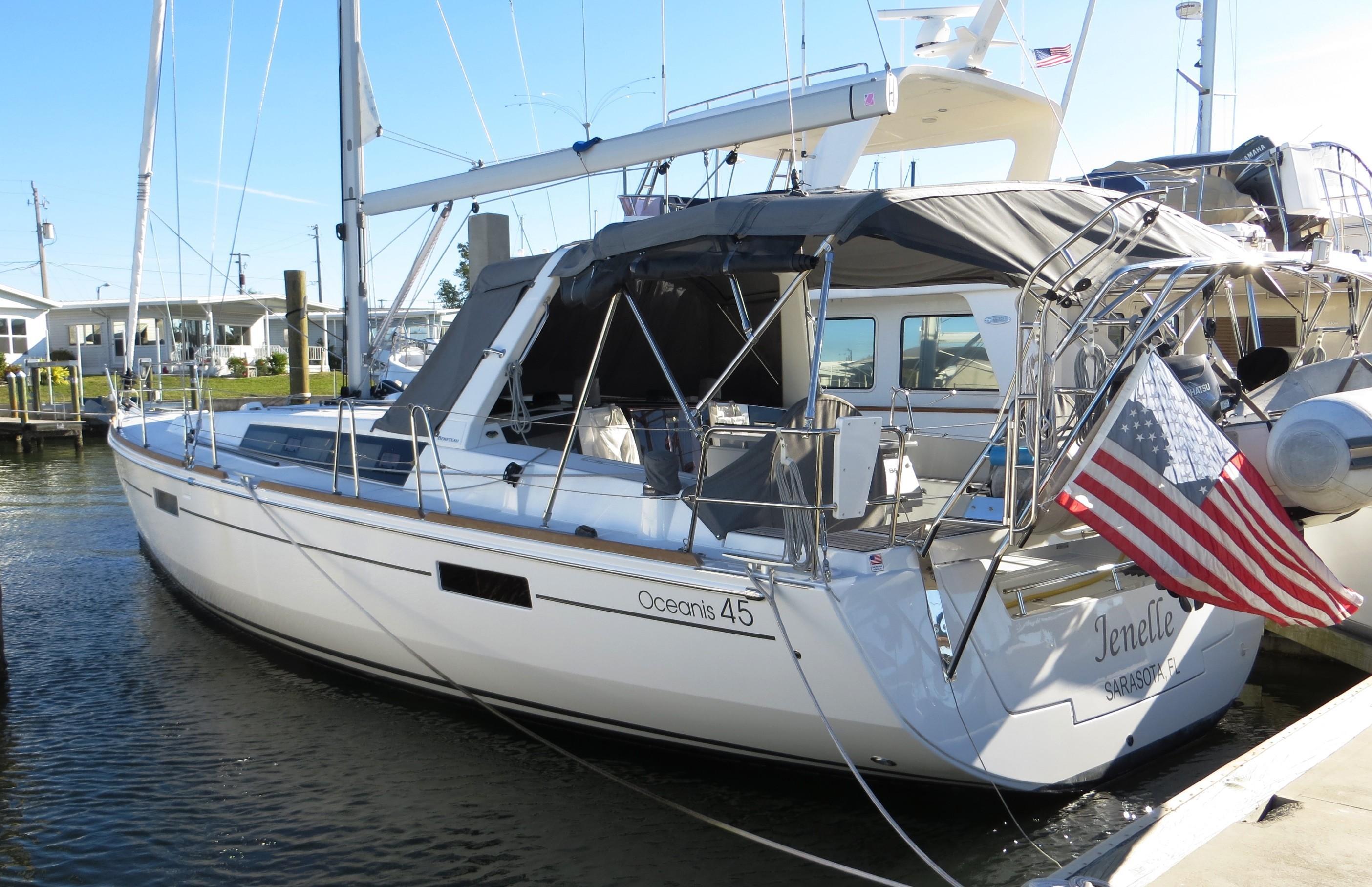 45 Beneteau America Jenelle 2017 St Petersburg Denison Yacht Sales